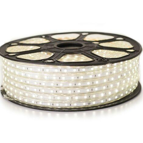 Ruban LED Professionnel 5050 60 LED/m de 25 ou 50 mètres Blanc neutre étanche (IP68)