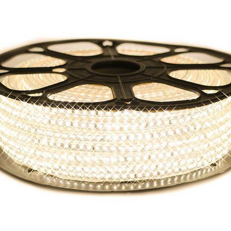 Ruban LED Professionnel Epistar 3014 120 LED/m de 25 ou 50 mètres blanc chaud étanche (IP68)
