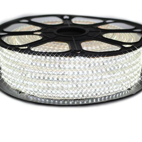 Ruban LED Professionnel Epistar 3014 120 LED/m de 25 ou 50 mètres blanc Froid étanche (IP68)