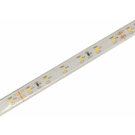 Ruban LED puissant 60 LED/m 8W/m étanche IP68 - Blanc Chaud 3000K