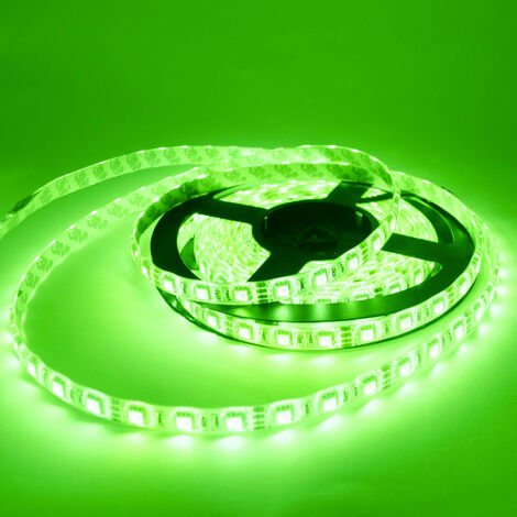 Ruban LED RGB 5m étanche IP54 30LED/m 7,2W/m