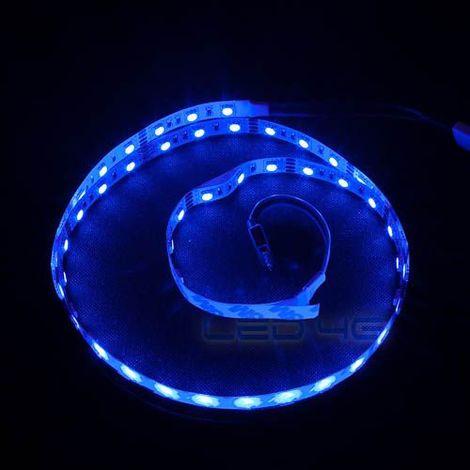 Ruban LED RGB puissant en 1 et 5M - LED 4G (Longueur : 1 Mètre)
