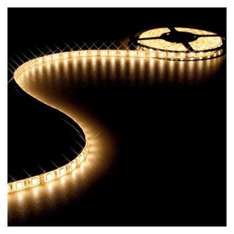 Ruban LED RVB 24V 10mm x 5m adhésif 300 LEDS IP61