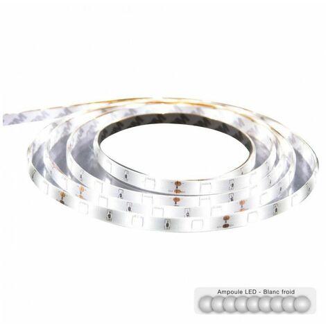 """main image of """"Ruban LED télécommandé - 500 x 1 x 0.4 cm - Blanc - Livraison gratuite"""""""