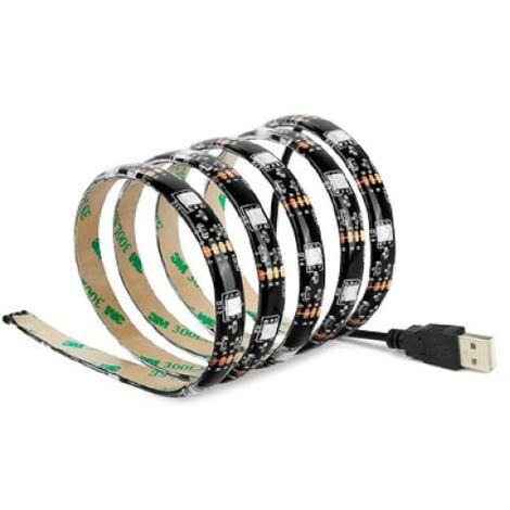 Ruban LED USB 1 mètre pour TV 7.2W 2700K GSC 1504514