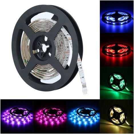 Ruban Lumineux 5050 RGB Ip65 Pour Tv Strips Éclairage De Fond Étanche
