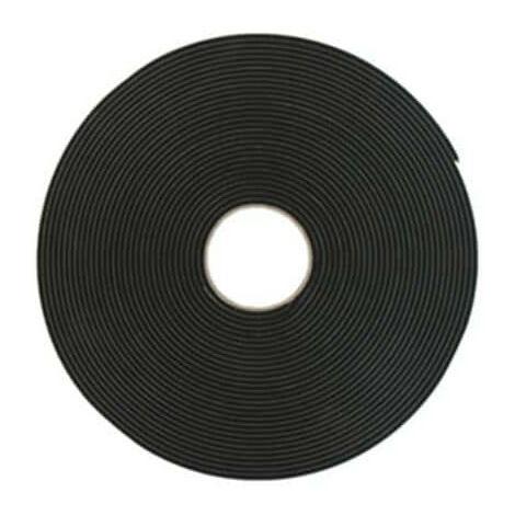 Ruban mousse simple face noir Norton 4.5mm x 12mm x 20m - Noir