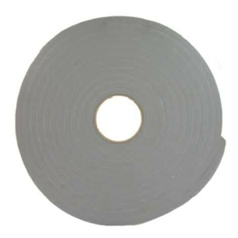 Ruban mousse simple face PVC gris Norton 3mm x 19mm x 30m
