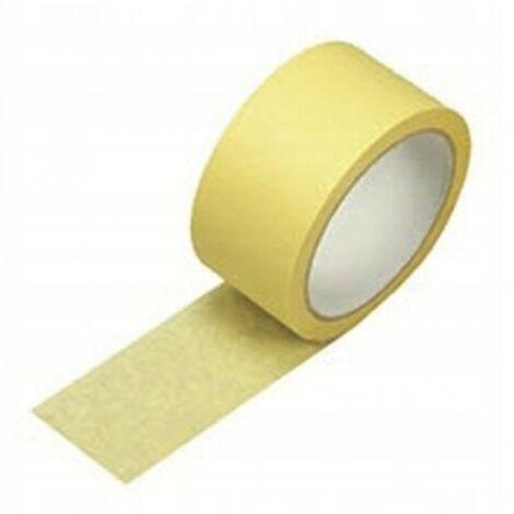 Ruban papier peinture jaune 50mm / 25m papier