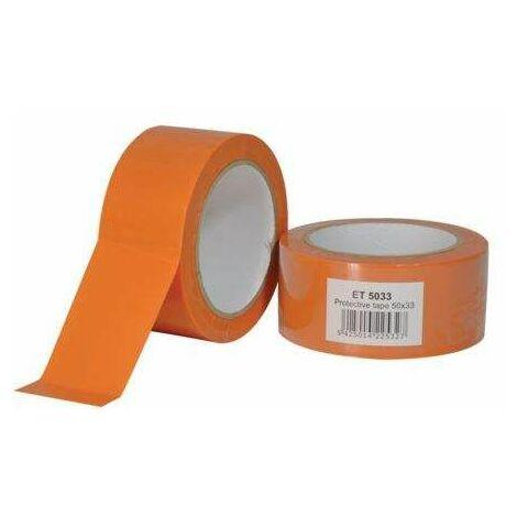Ruban PVC pare vapeur orange ECONOMIQUE, 50mm x 33m
