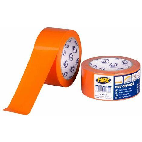 Ruban PVC pare vapeur orange PREMIUM, 50mm x 33m