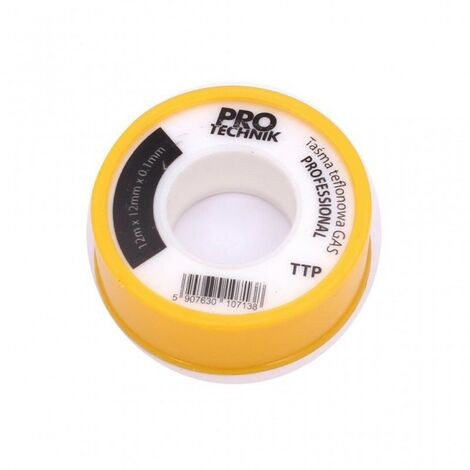 ruban téflon plus grand que 0,12 mm à l'eau de gaz jaune ...