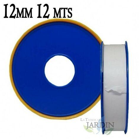 Ruban Téflon professionnel 12mm 12 mètres