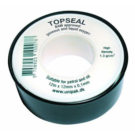 Ruban Teflon PTFE TOPSEAL Oxygène ruban de filetage UNIPAK