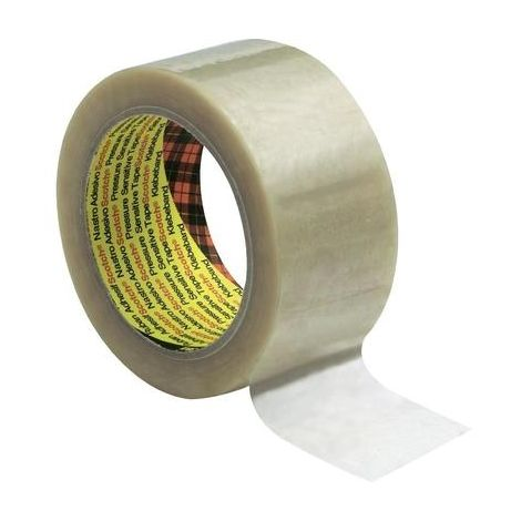RUBANS ADHÉSIFS D'EMBALLAGE SCOTCH® 6890 PVC (L X L) 66 M X 50 MM TRANSPARENT PVC 3M KT-0000-0213-1