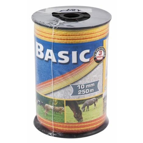 """Rubans de clôture """"Basic"""" 10 mm - 250 m"""