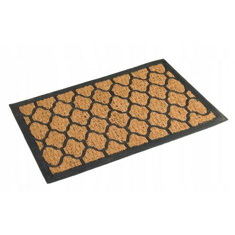 Rubber doormat, coconut insert 40x60 cm