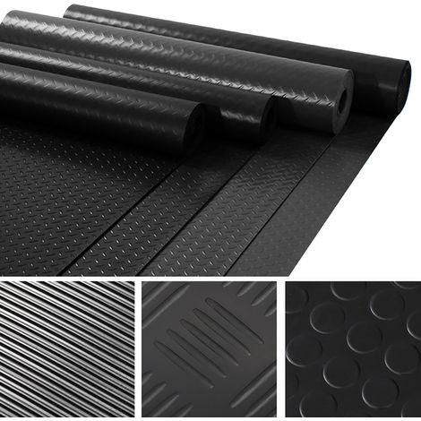 Rubber Matting Roll Workshop Car Garage Flooring Mat 1.5M Wide 3MM Thick