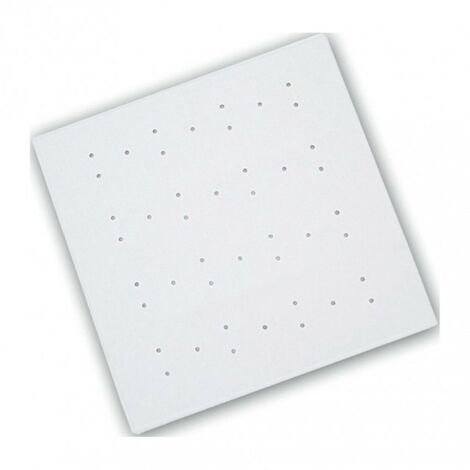 Rubber Shower Mat - White 530mm x 530mm