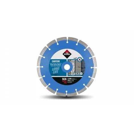 RUBI 30904 SCA-230 SUPERPRO Disco Diamante Cantero Segmentado
