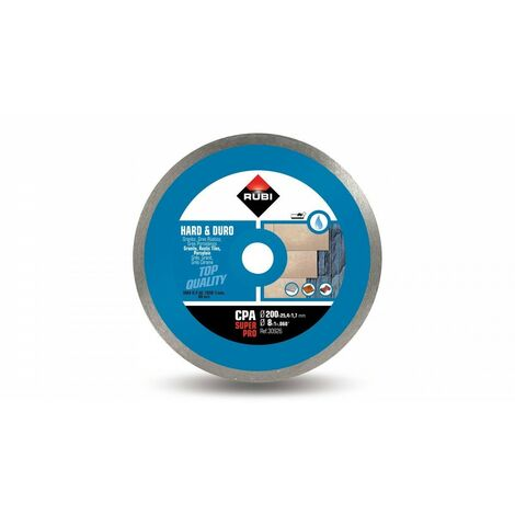 RUBI 30926 CPA-200 SUPERPRO Disco Diamante Material Duro Continuo