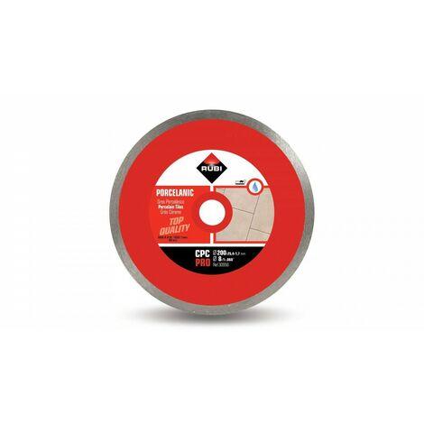 RUBI 30956 CPC-200 PRO Disco Diamante Gres Porcelánico Continuo