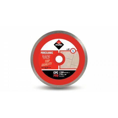 RUBI 30961 CPC-350 PRO Disco Diamante Gres Porcelánico Continuo