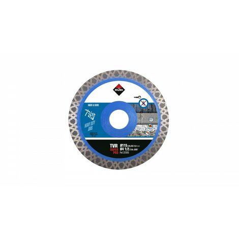 RUBI 30986 TVR-115 SUPER PRO Disco Diamante Materiales Duros