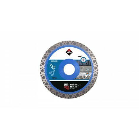 RUBI 30987 TVR-125 SUPER PRO Disco Diamante Materiales Duros