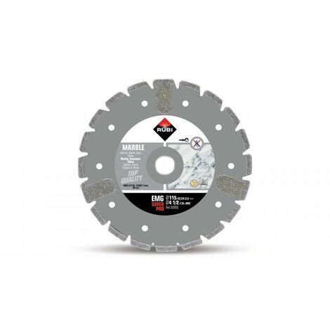 RUBI 30995 EMG-115 SUPERPRO Disco Diamante Mármol Electrodepositado