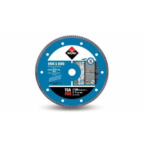 RUBI 31956 TSA-180 PRO Disco Diamante Para Material Duro