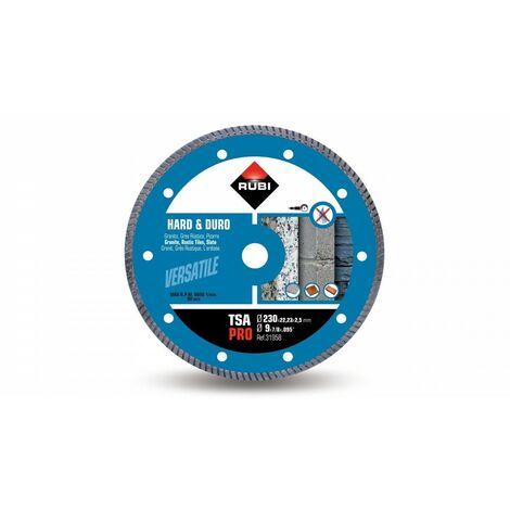 RUBI 31958 TSA-230 PRO Disco Diamante Para Material Duro