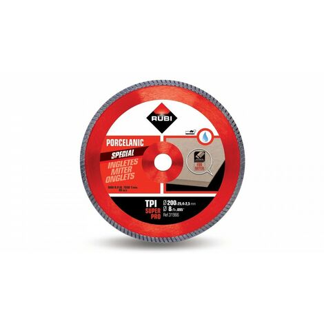 RUBI 31966 TPI 200 SUPERPRO Disco Diamante Corte Inglete