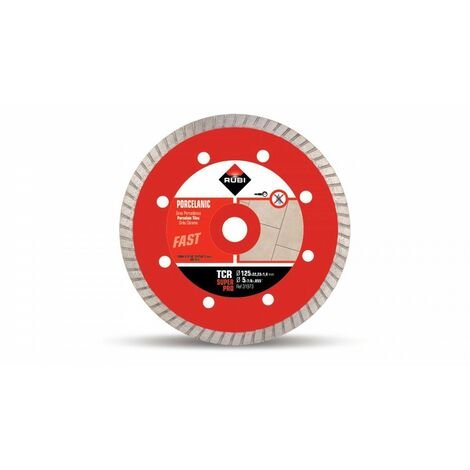 RUBI 31973 TCR-125 SUPERPRO Disco Diamante Porcelánico