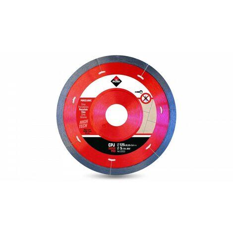 RUBI 32933 CPJ-125 SUPERPRO Disco Diamante Porcelánico J-Slot
