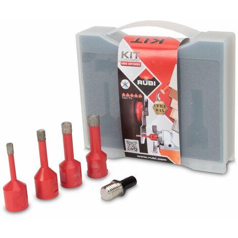 RUBI 50938 Kit Brocas Mini Drygres