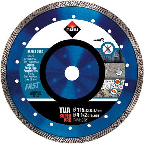 Rubi Disco diamante TVA 31935 230MM Superpro