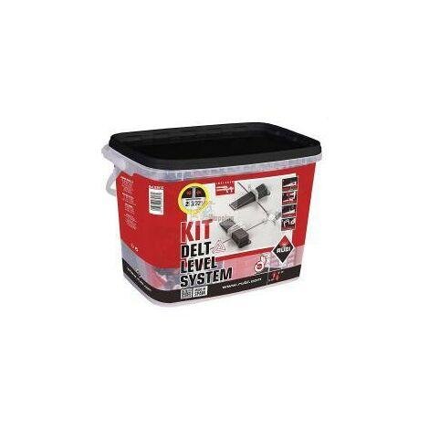 Rubi Kit di livellamento delle piastrelle delta da 1 mm (3-12 mm) 3913 mod. 03913