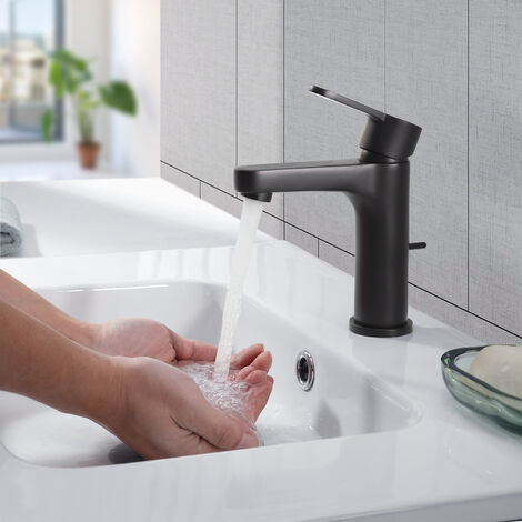 Rubinetto Automatico Rubinetto sensore Infrarossi Miscelatore Acqua per la Lavandino del Bagno Risparmio #3