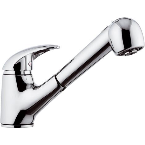 Rubinetto LAVELLOcon doccia estraibile e getto variabile - Serie Ten
