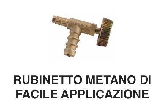 RUBINETTO PER FORNELLONE FORNELLO GAS METANO UNIVERSALE