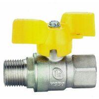 rubinetto valvola a sfera 1/2'' m/f diritto en 331 GAS