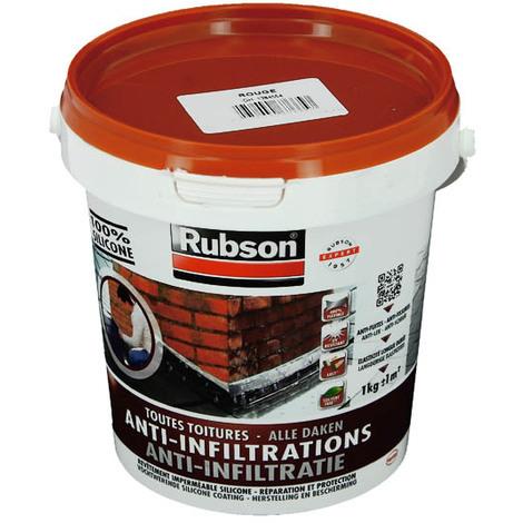 Résine silicone tuile étanchéité toiture plate,le pot de 1kg - 1384554