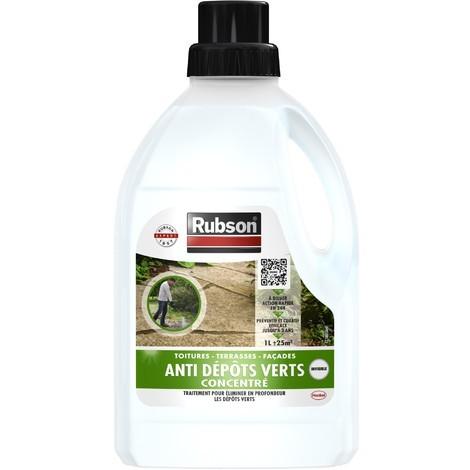 Rubson anti mousse et dépôts verts concentré 1L
