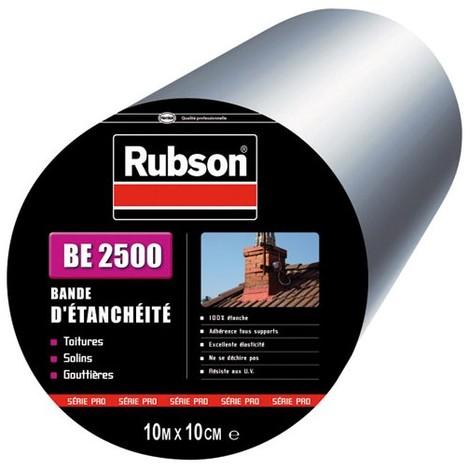 RUBSON - Bande d'étanchéité - 10 m x 10 cm - aluminium