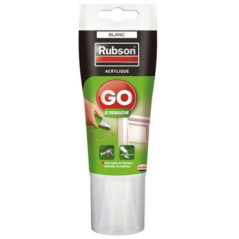 RUBSON - Mastic rebouchage Go Je rebouche tube 50mL - blanc