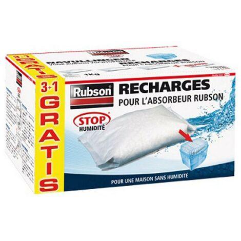 Recharge absorbeur d'humidité Rubson 'Basic' neutre 4 kg