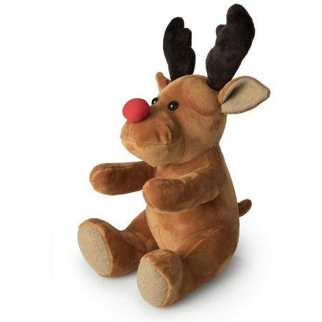Rudolph The Red Nose Reindeer - Winter Christmas Theme - Door Stop