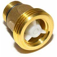 Rückschlagventil für Zikulationspumpen G 1/2'' x G 1'' mit Nullring 40mm