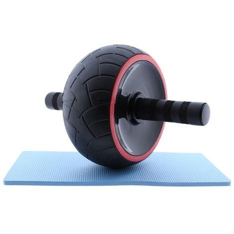 Rueda abdominal pilates King AB Wheel con esterilla antideslizante Pilates King
